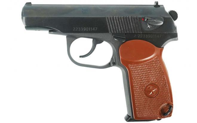Травматический пистолет МР-80-13Т .45 Rubber, без дополнительного магазина