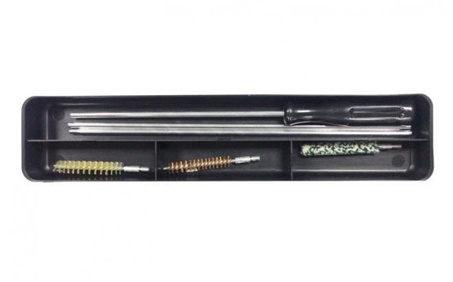 Набор LUCKY VIEW для чистки оружия кал. 7,62 (3 ерша, алюм, шомпол, 3-х секционный)
