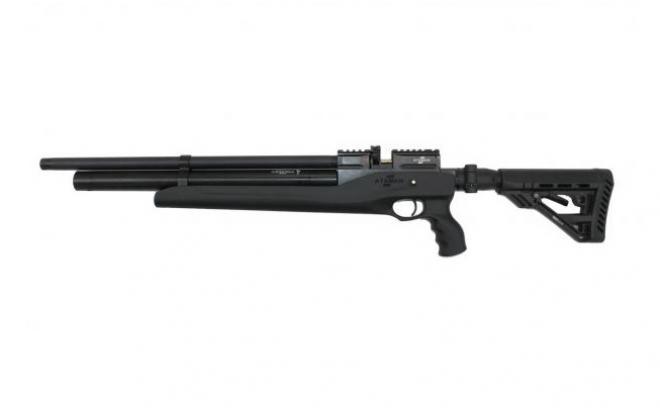 Пневматическая винтовка Ataman M2R Тип IV Карабин Тактик укороченная SL 5,5 мм (Черный)(магазин в комплекте)(625C/RB-SL)