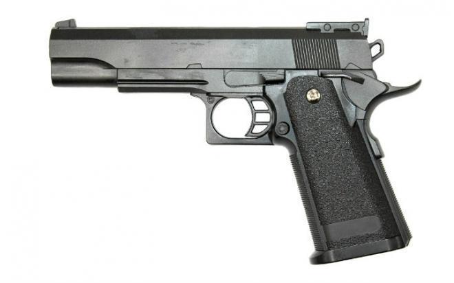 Пистолет Galaxy G.6 пружинный 6 мм (уценка)