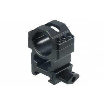 Кольца Leapers UTG 25,4 мм быстросъёмные на Weaver с винтовым зажимом, высокие, 3 винта (RG2W1206)