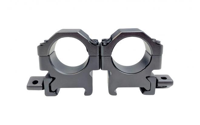 Кольца Leapers UTG 25,4 мм быстросъёмные на Weaver с винтовым зажимом низкие (RG2W1104)