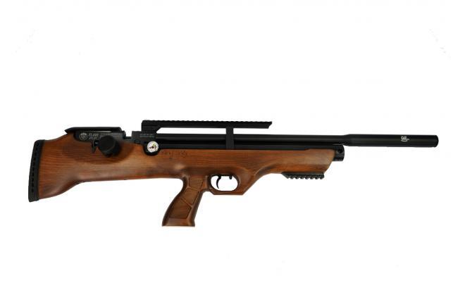 Пневматическая винтовка Hatsan FLASHPUP QE 6,35 мм (3 Дж)(PCP, дерево)