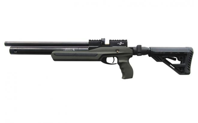 Пневматическая винтовка Ataman M2R Ultra-C SL 6,35 мм (Зелёный)(магазин в комплекте)(736/RB-SL)