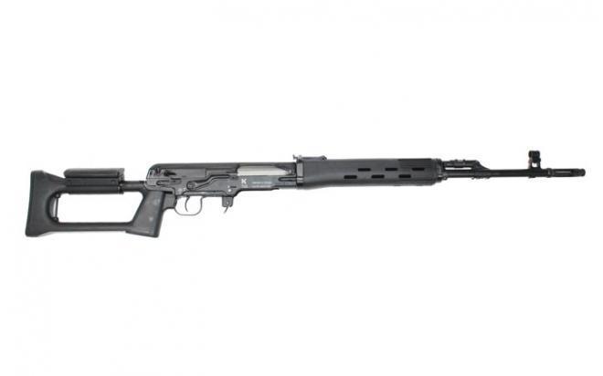 Карабин Kalashnikov TG3 9,6х53 Ланкастерисп.01(L=530, плс, удл. плг.)