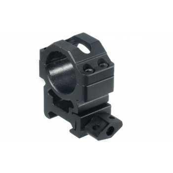 Кольца Leapers UTG 25,4 мм быстросъёмные на Weaver с винтовым зажимом средние (RG2W1154)
