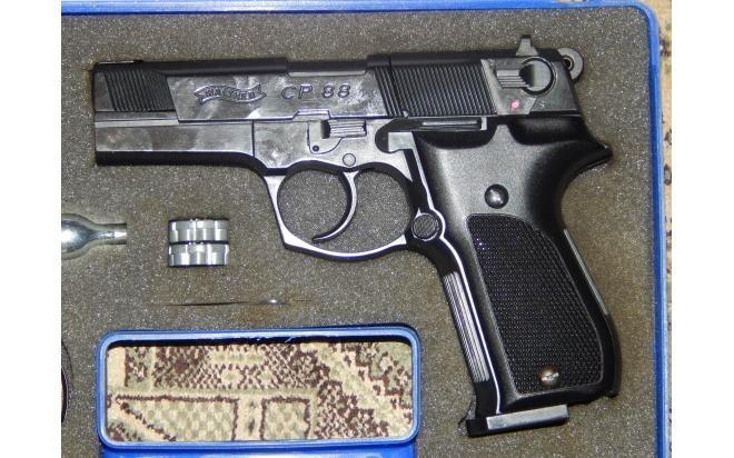Пневматический пистолет вальтер Umarex Walther CP88 4,5 мм