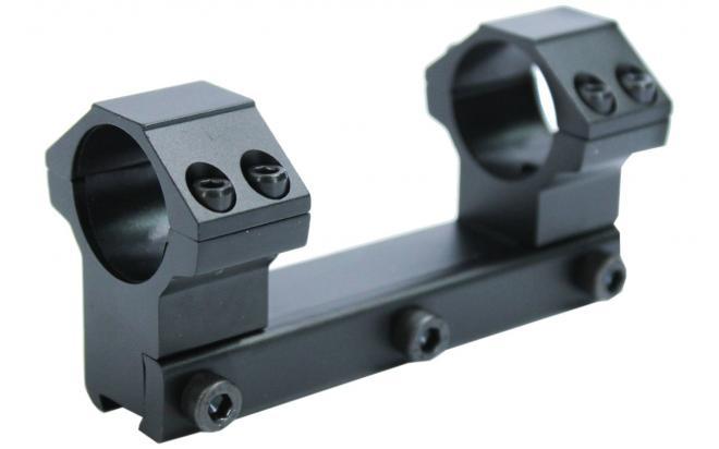 Кронштейн Leapers AccuShot с кольцами 25,4 мм, для установки на призму 10-12 мм, высокий (RGPM2PA-25H4)