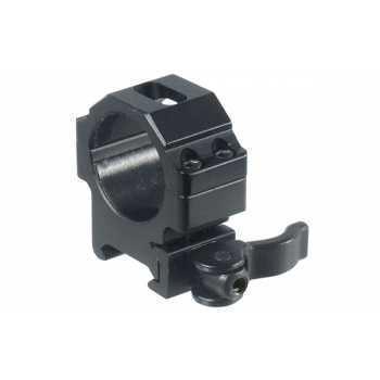Кольца Leapers UTG 30 мм быстросъёмные на Picatinny с рычажным зажимом низкие (RQ2W3104)