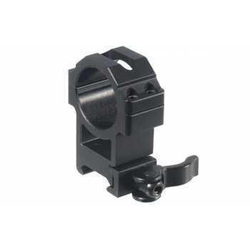 Кольца Leapers UTG 30 мм быстросъёмные на Picatinny с рычажным зажимом, высокие (RQ2W3224)
