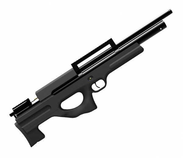 Пневматическая винтовка Ataman M2R Булл-пап 4,5 мм (Чёрный)(магазин в комплекте)