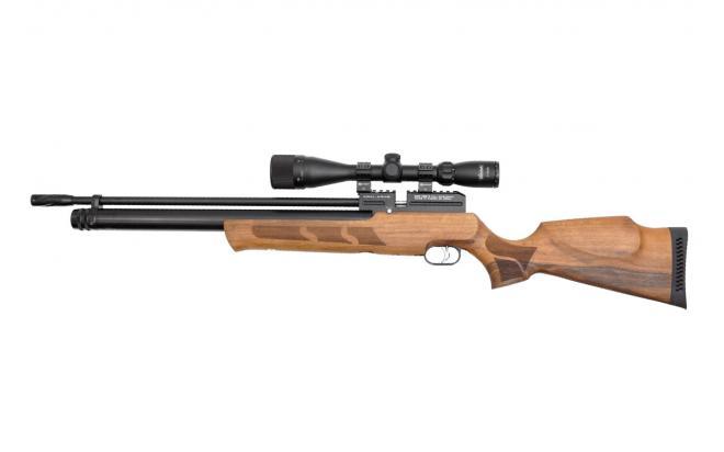 Пневматическая винтовка Kral Puncher maxi 3 орех 6,35 мм (модератор)