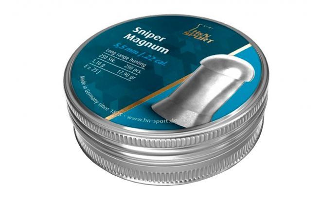 Пули пневматические H&N Sniper Magnum 5,5 мм 1,16 грамма (250 шт.)