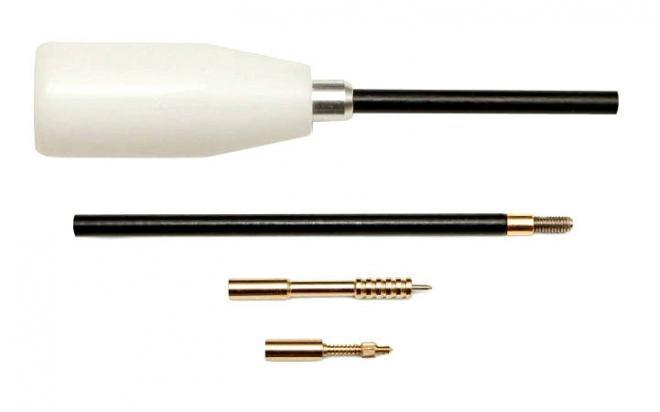 Шомпол ЧИСТОGUN кал.17-.20 (4 мм) (длина 65 см, в нейлоновой оплетке, резьба папа 5/40)