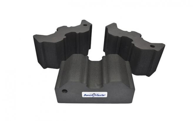 Опора Benchmaster для оружия наборная 20,3х19х10,1 см (жесткая пена, 3 части, прорезиненная основа)