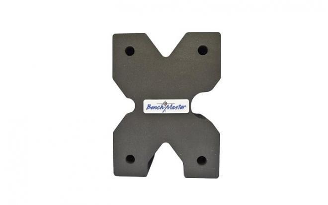 Опора Benchmaster для оружия X-образная 20,3х15,2х10,1 см (жесткая пена, разные вырезы на 4 стороны)