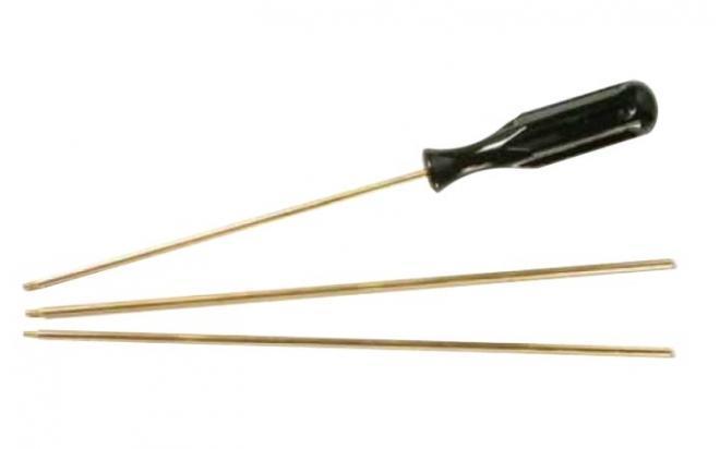 Шомпол для чистки оружия кал. 4 мм (латунь, резьба наружная 3 мм)