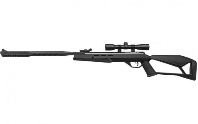 Пневматическая винтовка Crosman Thrasher 4,5 мм (переломка, пластик, прицел 4x32)
