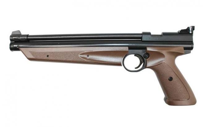 Пневматический пистолет Crosman P1377BR American Classic Brown 4,5 мм