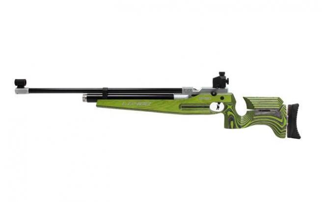 Пневматическая винтовка Walther LG400 Junior RE/LI Green Pepper 4,5 мм