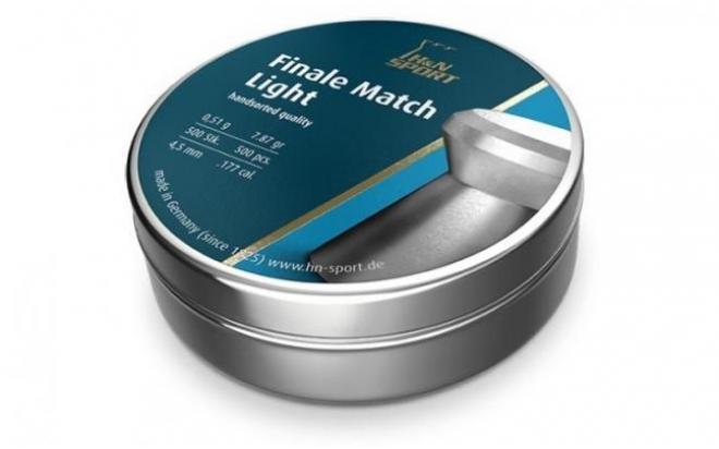Пули пневматические H&N Finale Match Light для винт. гладк. 4,5 мм (500 шт.)