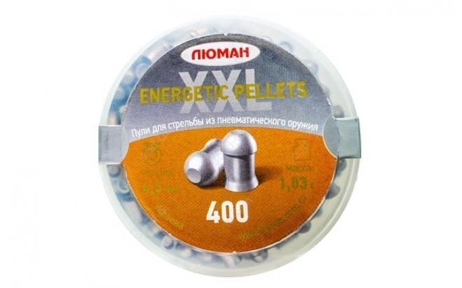 Пули пневматические Люман Energetic Pellets XXL 4,5 мм 1,03 грамма (400 шт.)