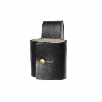 Чехол под дубинку с фиксатором Light (черный, кожа)