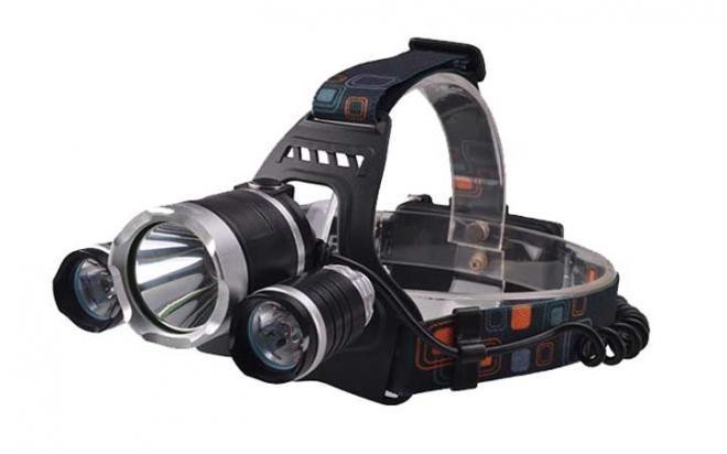 Фонарь налобный Headlamp Air-Gun 6000 lumens