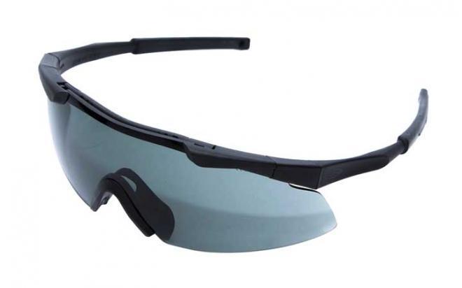 Очки стрелковые защитные Smith Optics AEG01BK-GY-FK-SUR