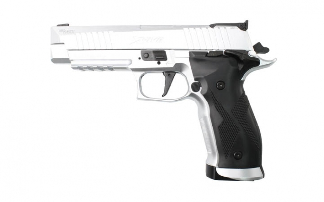 Пневматический пистолет Sig Sauer X-Five 4,5 мм (P226-X5-177-SLV)