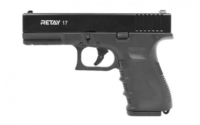 Оружие списанное охолощенное пистолет Glock 17 кал. 9 мм