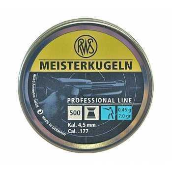 Пули пневматические RWS Meisterkugeln 4,5 мм 0,45 гр