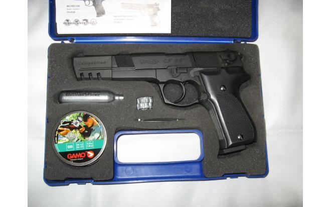 пневмат.пистолет WALTER  CP88 competition UMAREX 4.5mm