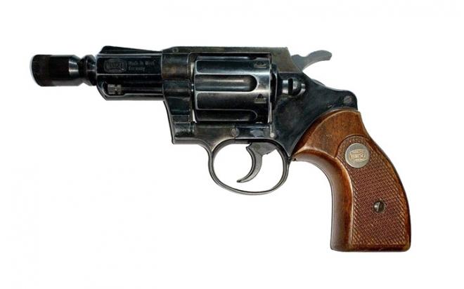 Газовый револьвер Mauser K50 .380 (№ 040339)