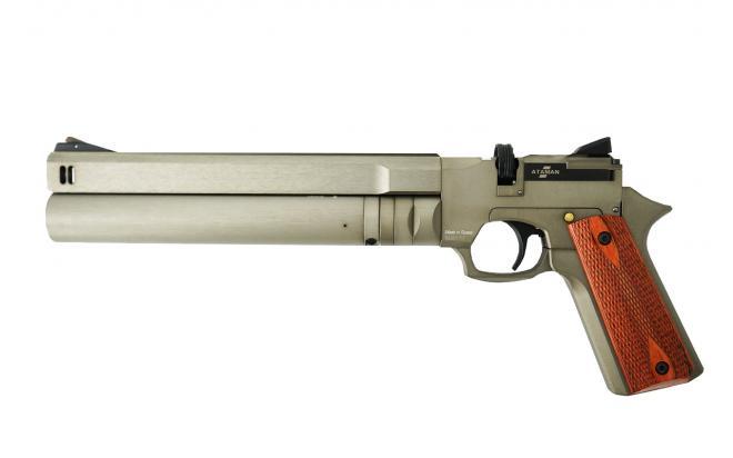 Пневматический пистолет Ataman AP16 Titanium стандарт металл 5,5 мм