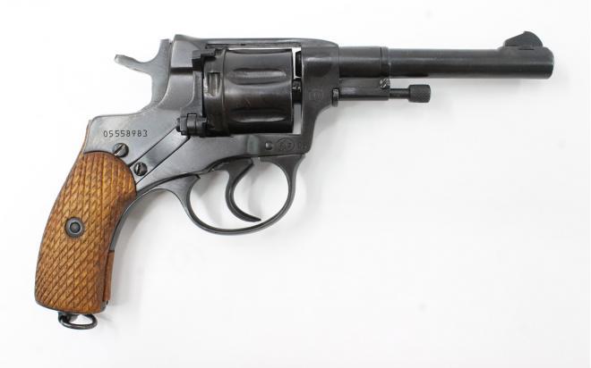 Газовый пистолет P-1 наганыч 9P.A. №05558983