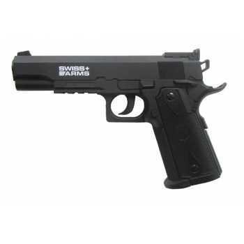 Пневматический пистолет Swiss Arms P1911 Match (288708) 4,5 мм