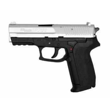 Пневматический пистолет Cybergun Sig Sauer SP 2022 пластик под никель 4,5 мм