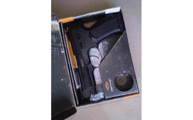 Пневматический пистолет Gletcher MP-443 NBB 4,5 мм