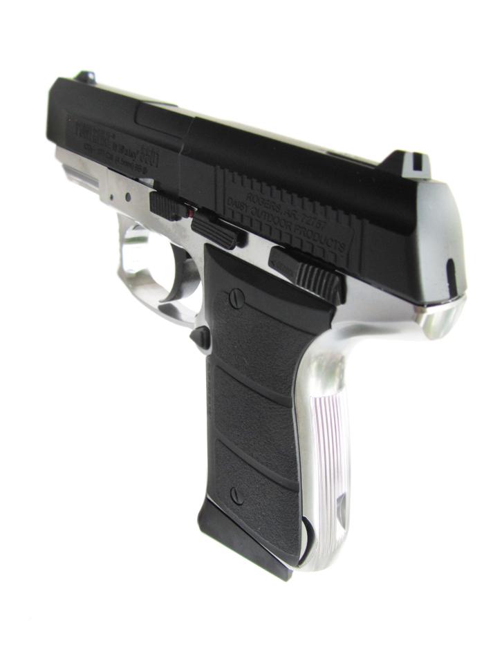 7)Самый мощный пневматический пистолет с blow-back