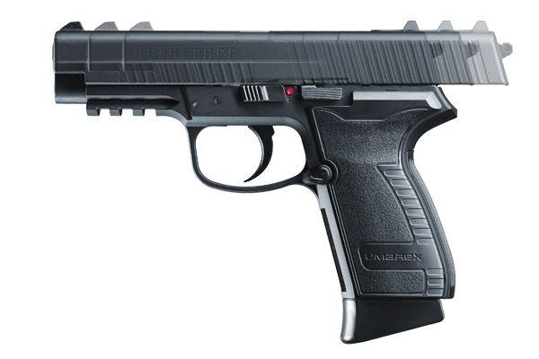 6)Самый мощный пневматический пистолет с blow-back
