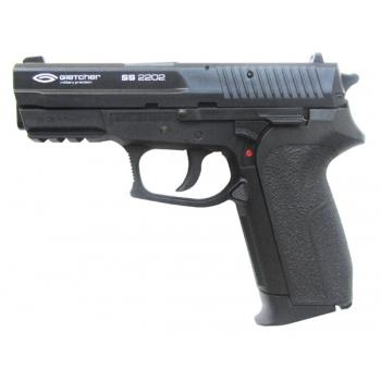 3)Самый мощный пневматический пистолет марки Gletcher