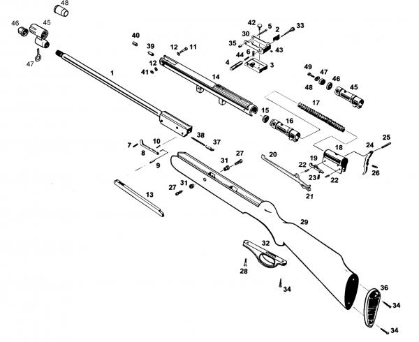 6)Винтовка МР512 и ее модификации.