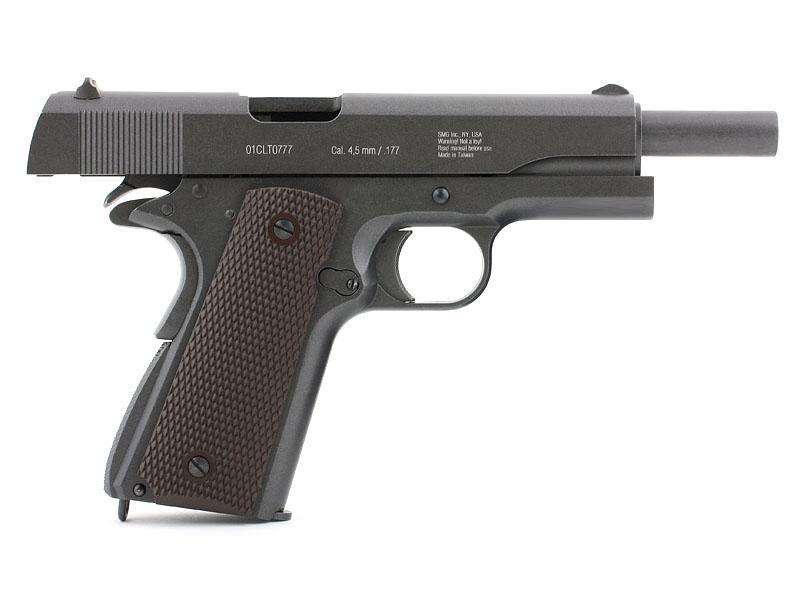 4)Gletcher CLT 1911 4,5 мм