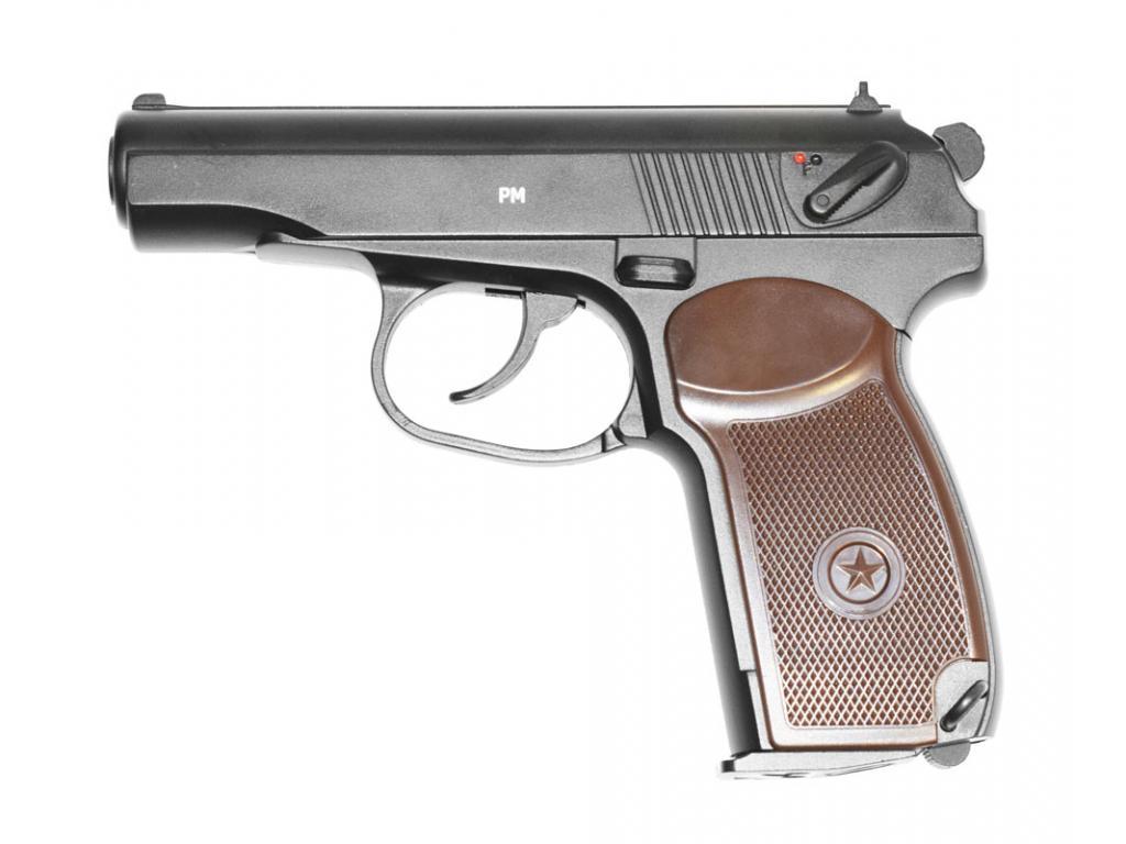 1)Сравнение пневматических версий пистолета Макарова
