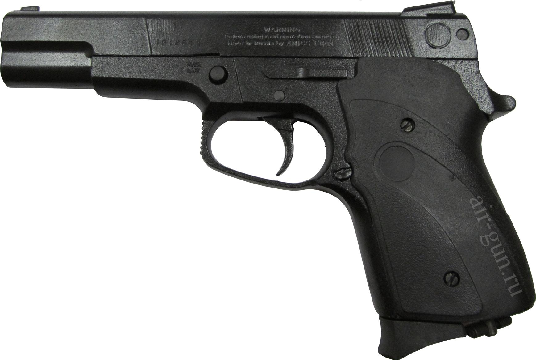 2)Наиболее популярные пневматические пистолеты