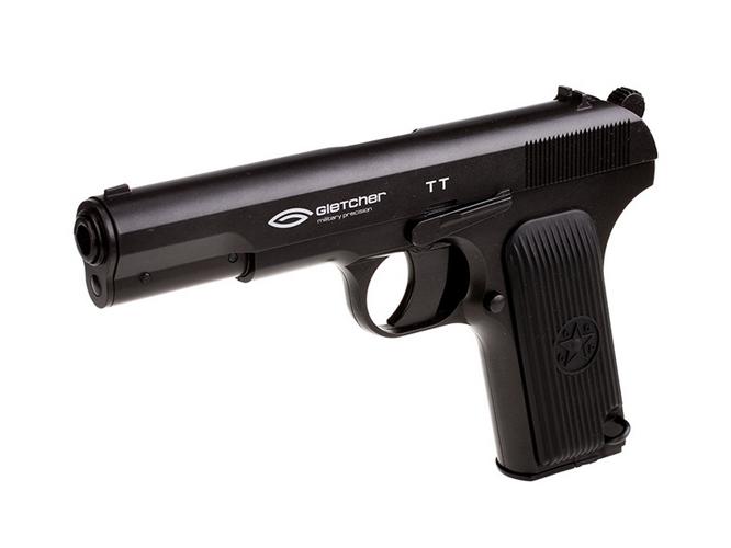 2)Самый мощный пневматический пистолет с blow-back
