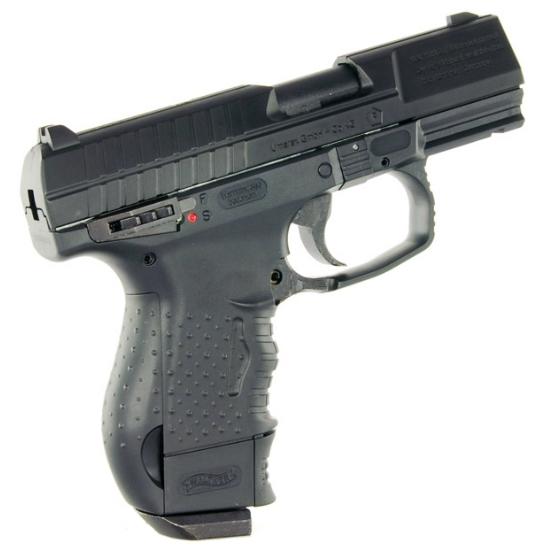5)Самый мощный пневматический пистолет с blow-back