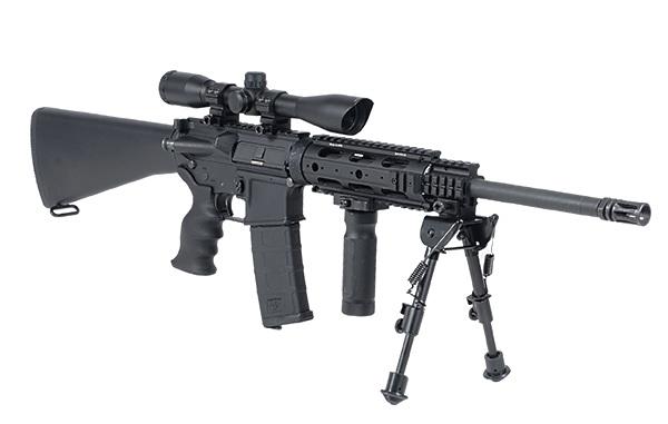 1)Оптический прицел для пневматической винтовки