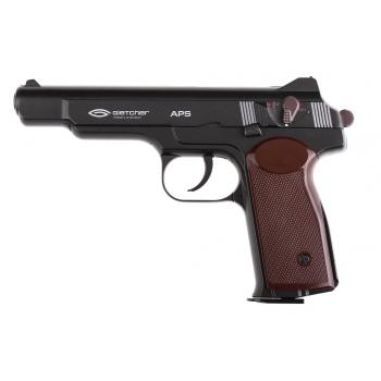 Пневматический пистолет Gletcher APS Стечкина (АПС) Blowback 4,5 мм